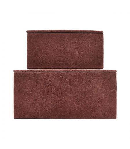 Set of 2 boxes Suede henna House Doctor