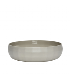 Gray porcelain bowl in Hubsch