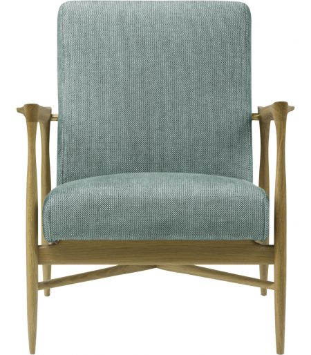 Fauteuil Floating tissu zag celadon Red Edition