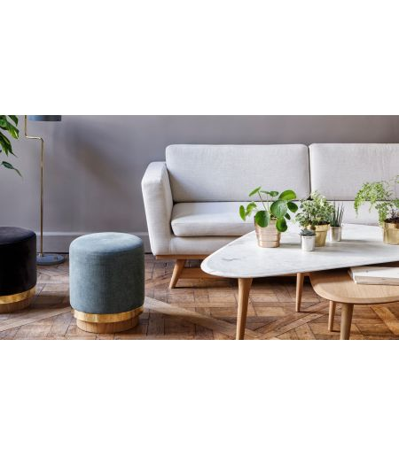 Tabouret Stool coton indien Red Edition