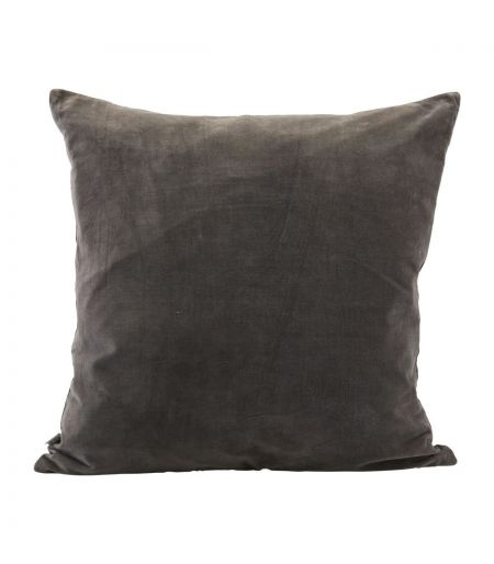 Cushion cover Velv grey House Doctor