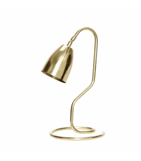 Gold metal lamp Hubsch