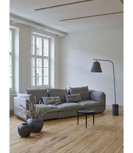 Sofa Macchiato right side light grey Norr11