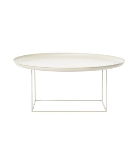 Coffee Table Duke L antique white Norr11