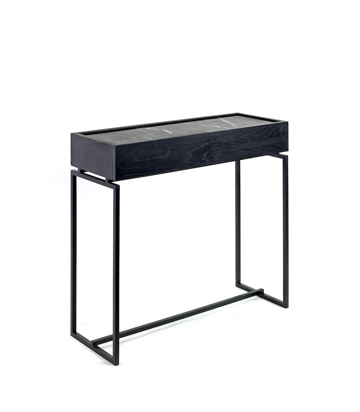console nero en marbre noir serax frenchrosa. Black Bedroom Furniture Sets. Home Design Ideas