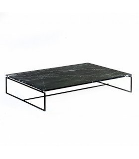 Nero black marble table serax for Table basse dessus marbre