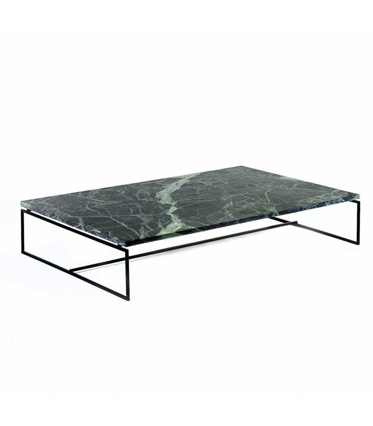 Table verde en marbre vert serax for Table basse marbre