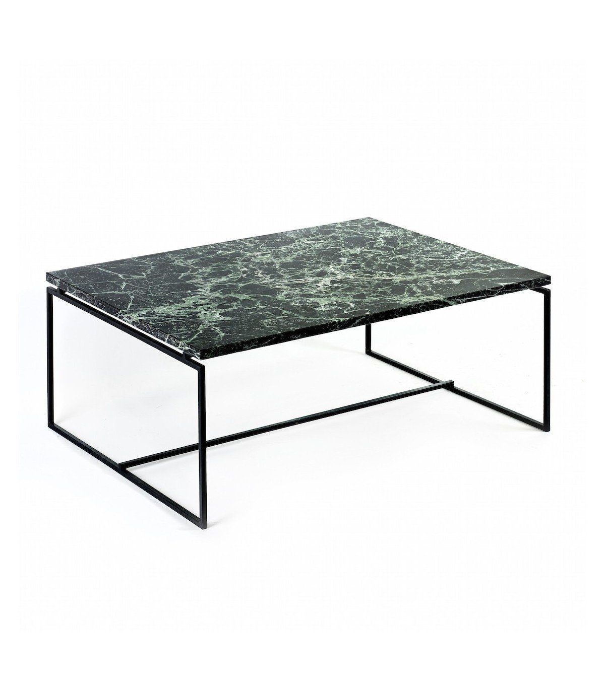 Table verde en marbre vert serax for Table basse scandinave vert d eau