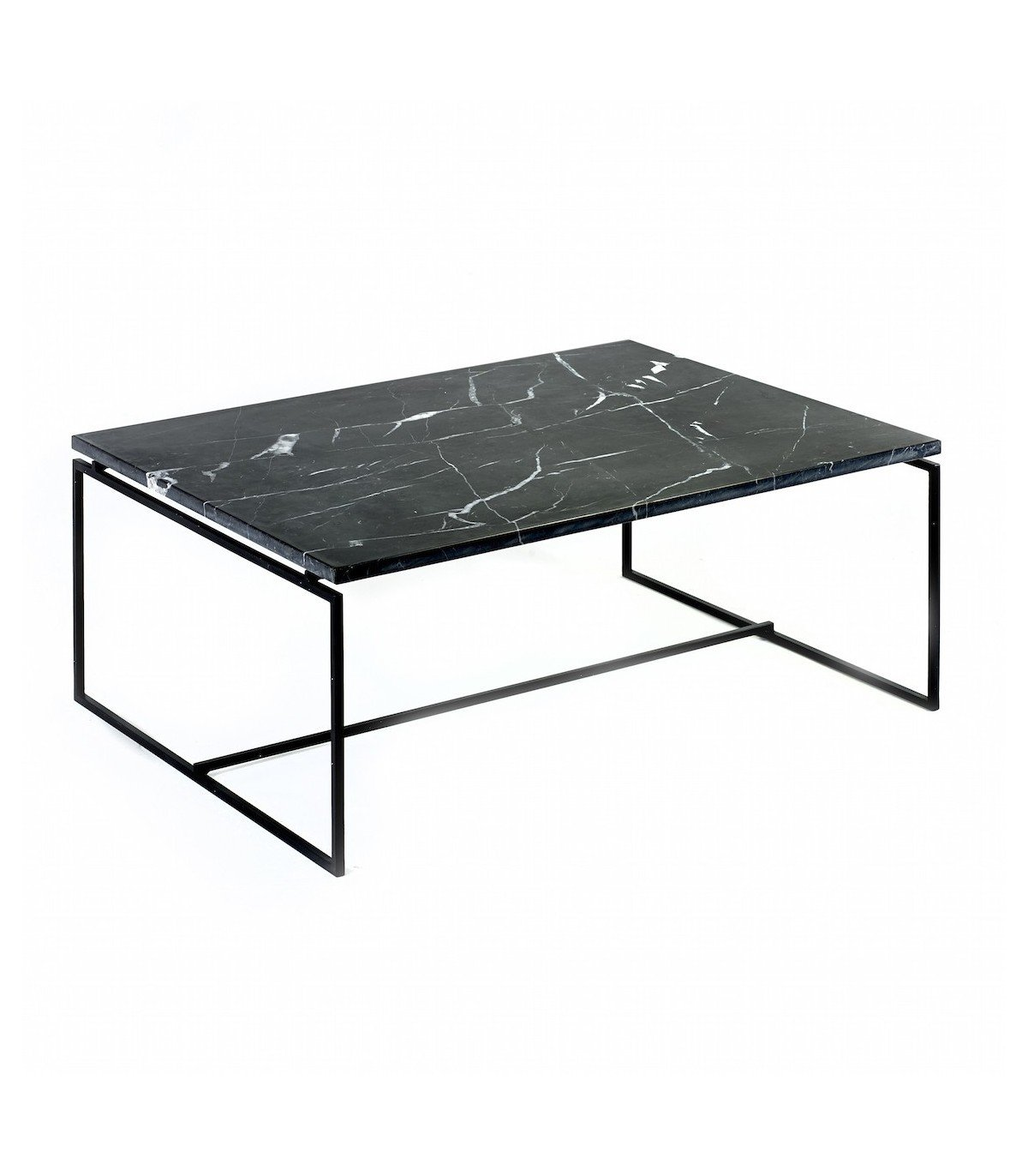 table nero en marbre noir serax