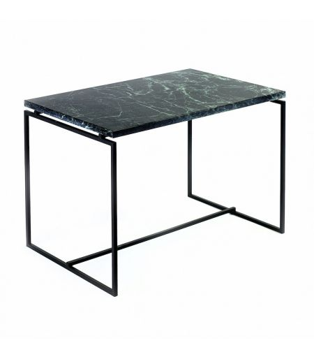 Coffee table in green marble