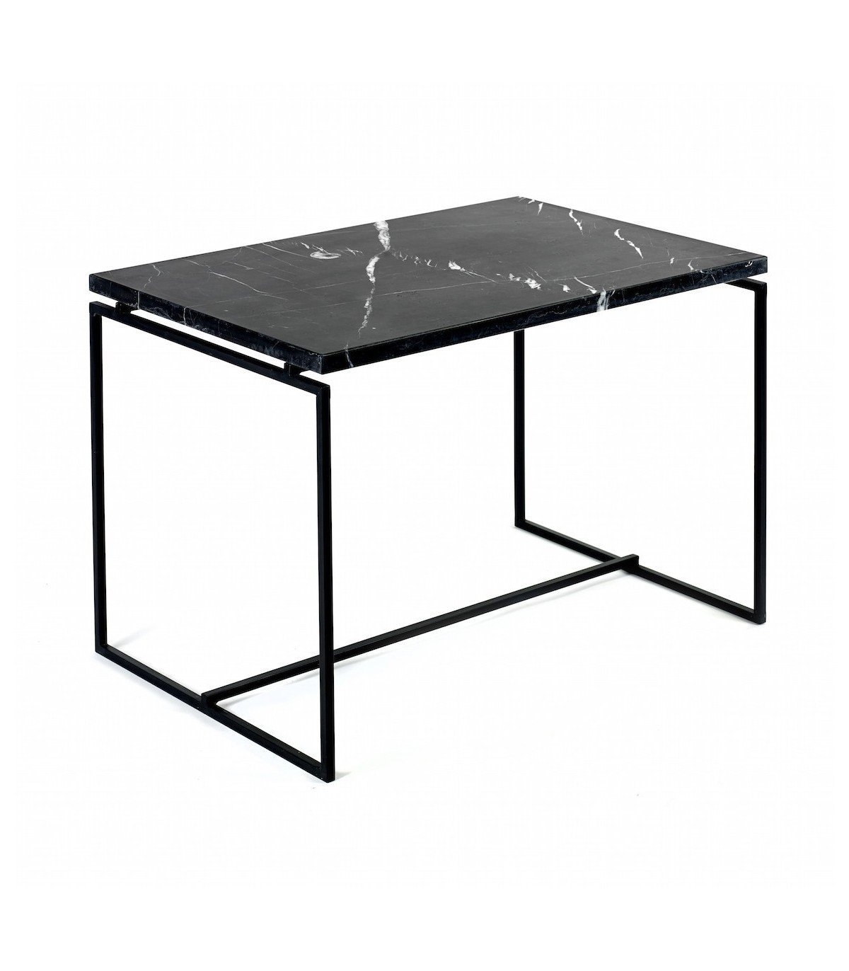 Klein Marble Coffee Table: Nero Black Marble Table Serax