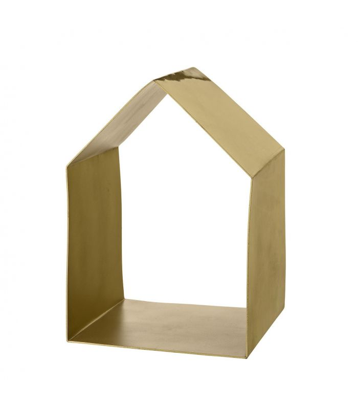 House brushed gold Shelves