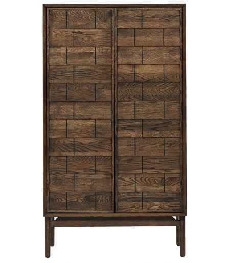Clinkers highboard smoked oak Bolia