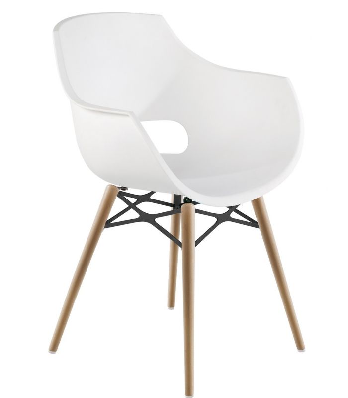 Chaise Opale blanche Muubs