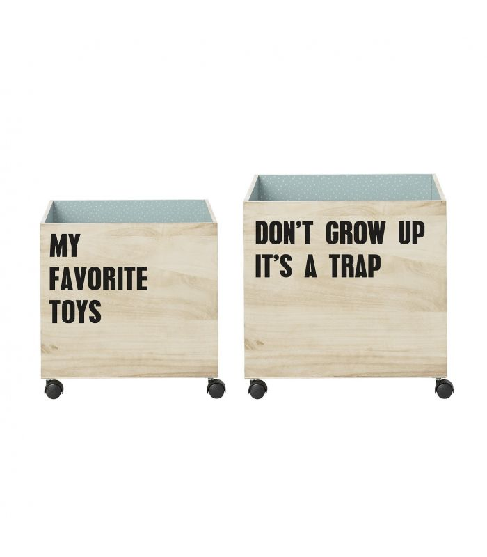 Bloomingville Storage Boxes (set of 2)