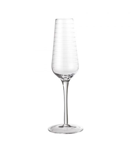 Champagne glasses x6 Clear Bloomingville