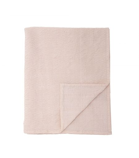 Tablecloth pink M Cotton Bloomingville