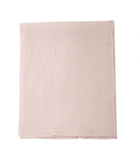 Tablecloth pink L Cotton Bloomingville