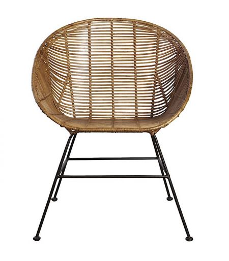 Chair rattan-woven House Doctor