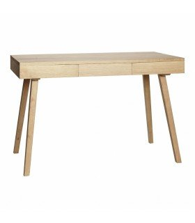 Desk w compartments oak kind 110x57xh78cm Hubsch