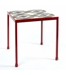 Feeling coffee table in concrete graphic Serax