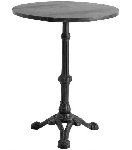 Coffee Table, black marble/iron Nordal
