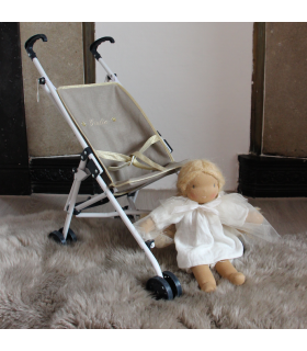 Stroller luxury doll