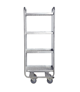 Galvanized steel trolley House Doctor