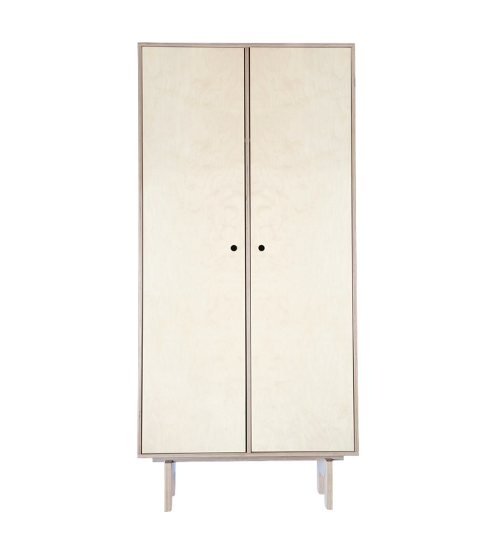 Armoire Easy en bois naturel House Doctor
