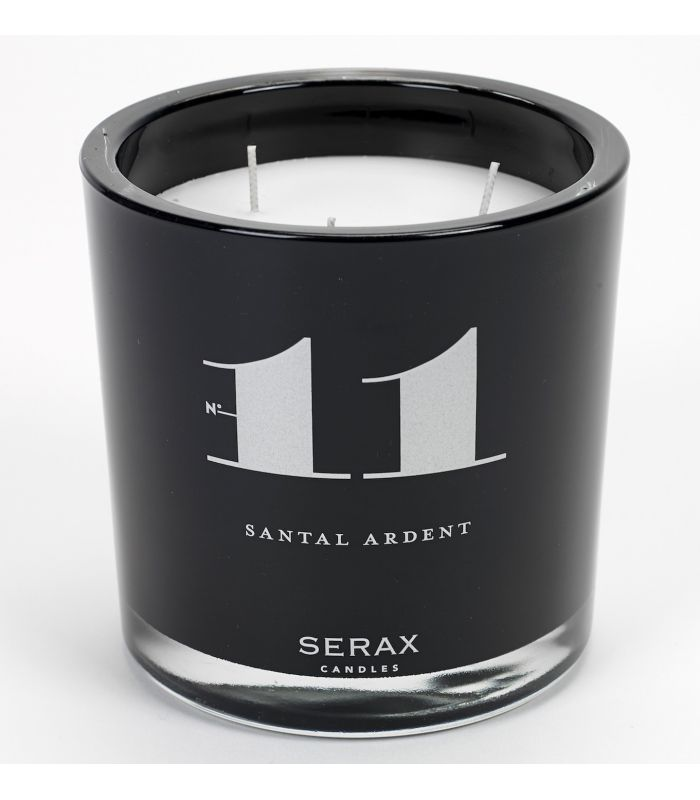 "Candle burning sandalwood ""11"" XL Serax"