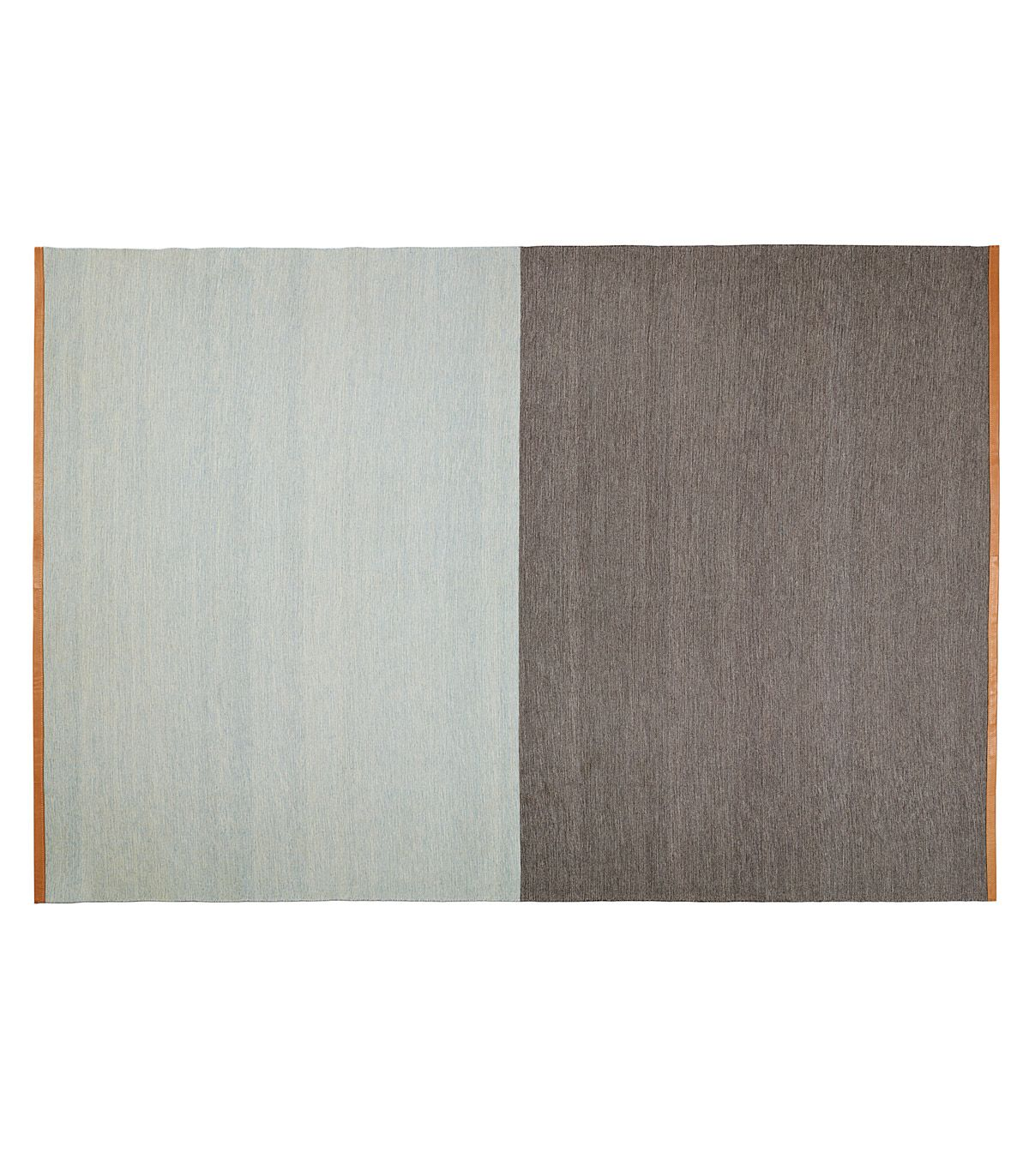 Tapis Fields bleu marron Design House Stockholm