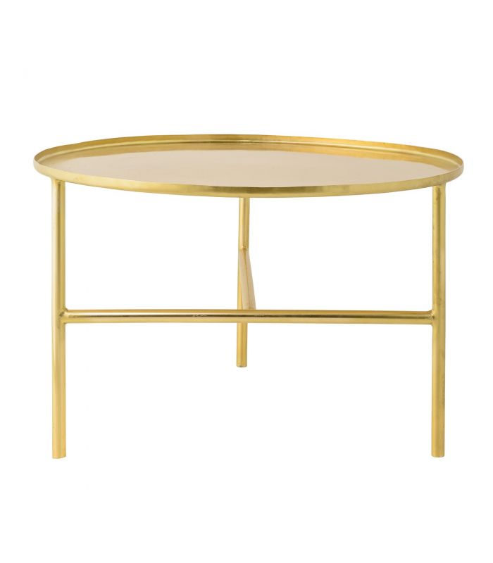 Low marble and gold table Bloomingville