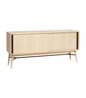 Dresser w 7 compartments oak kind 120x30xh86cm Hubsch