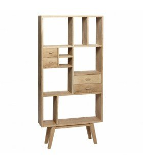 Dresser w 7 compartments oak nature 120x30xh86cm Hubsch