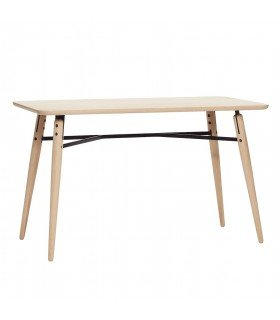 Oak dining table Nature 150x65xh76cm Hubsch