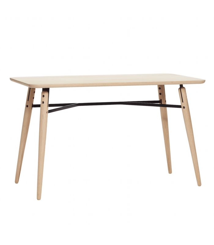 Dining table oak nature 150x65xh76cm Hubsch