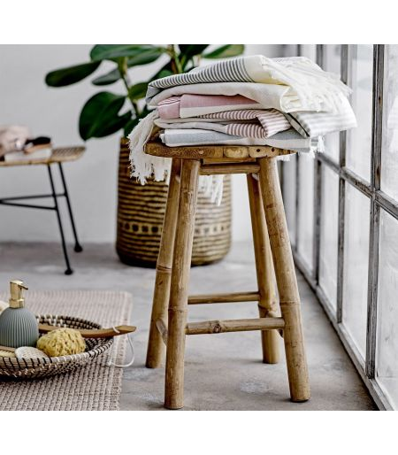 Tabouret Sole bambou rond Bloomingville