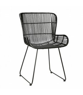 Rattan round chair kind 71x67xh77cm Hubsch