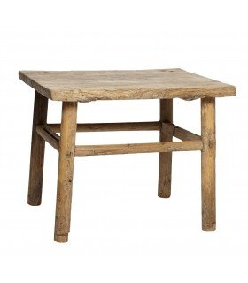 Sofa table elmwood 120-130x40-60xh45cm Hubsch