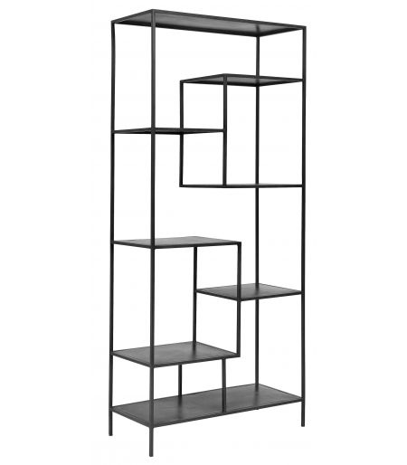 Large shelf black iron Nordal