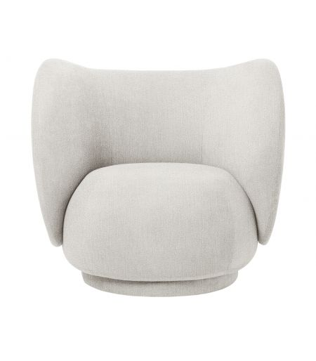 Armchair Rico rounded Ferm Living