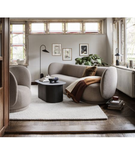 Armchair Rico wool French terry Ferm Living