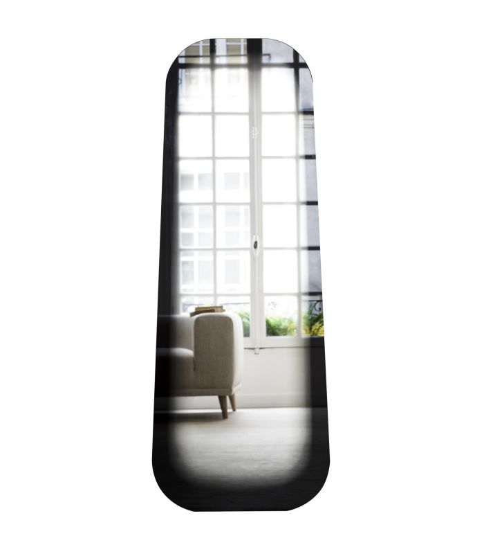 Miroir long fading noir eno studio eno studio for Miroir long noir