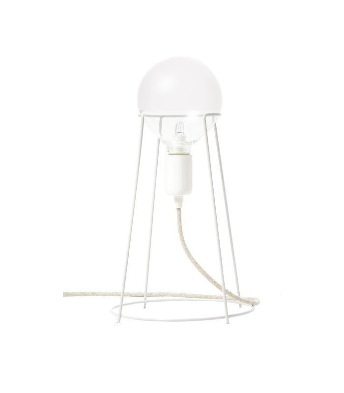 Lampe blanche Get out dog! Eno studio