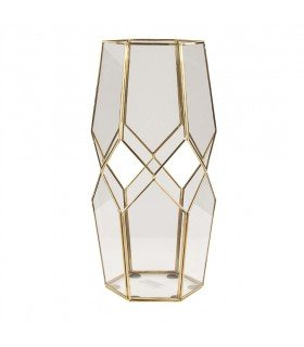 Peter lantern brass and glass Broste Copenhagen