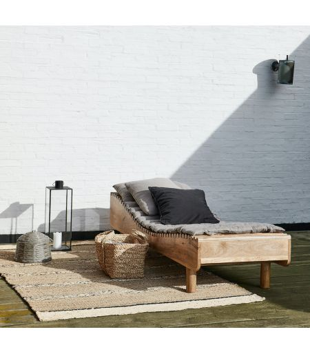 Daybed bois luxe design