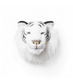 Trophy stuffed white tiger Albert Wild and Soft