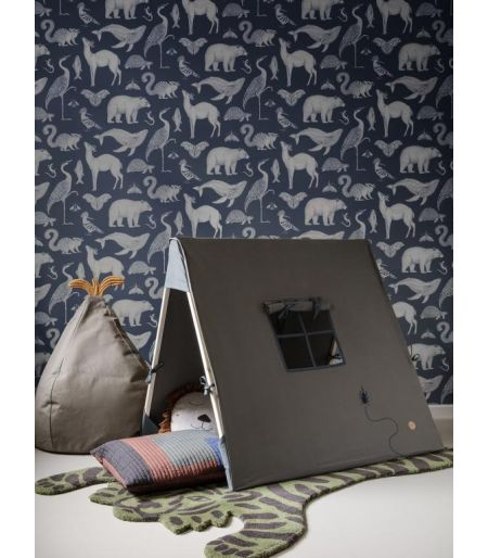 Embroidered tent - Ferm Living