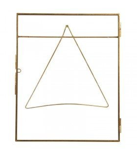 Large brass picture frame model & Klevering