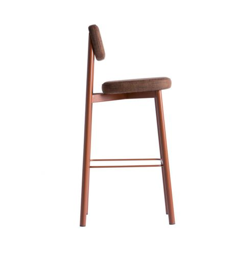 RESIDENCE high chair brick red Kann